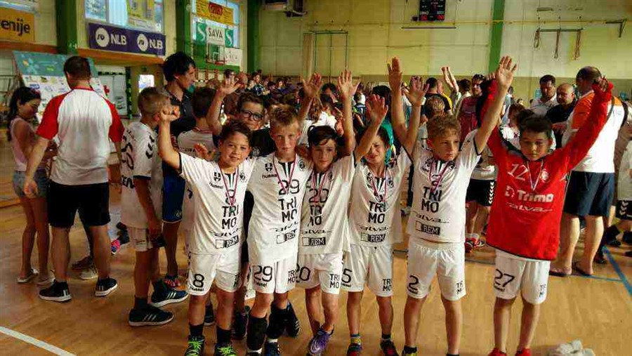 Mini rokometaši letnika 2008 osvojili 2. mesto na mednarodnem turnirju Zasavje Cup 2018